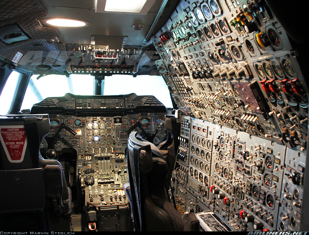 A big complicated cockpit